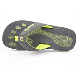 Cushe Men's Forensic Flop Gray Sandals