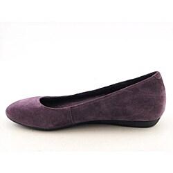 Rockport Women's Faye Ballet Purple Casual Shoes