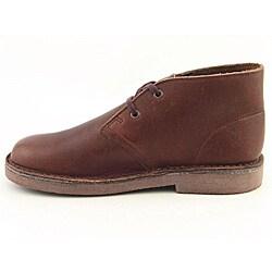 Clarks Originals Boy's Desert Brown Boots - Thumbnail 1