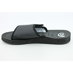 Cobian Men's GTS Draino  Black Sandals - Thumbnail 1