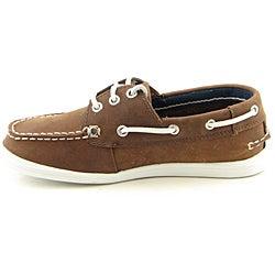 shop nautica boy's nb101 brown casual shoes  free