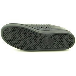 K Swiss Men's The Classic Black Casual Shoes (Size 10) - Thumbnail 1