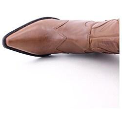 Carlos Santana Women's Silverado Brown Boots (Size 5)