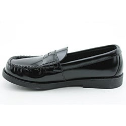 Sperry Top Sider Boy's Colton Black Dress Shoes - Thumbnail 1
