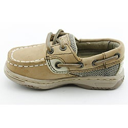 Sperry Top Sider Boy's Bluefish Beige Casual Shoes - Thumbnail 1