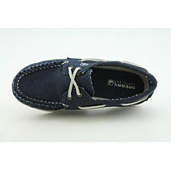 Sperry Top Sider Girl's A/O Blue, Navy Blue Casual Shoes - Thumbnail 1