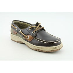 Sperry Top Sider Boy's Bluefish Brown Casual Shoes - Thumbnail 1