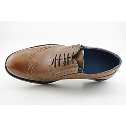 Lounge By Mark Nason Men's Hoxton Brown Dress Shoes - Thumbnail 1