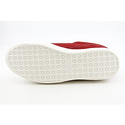Puma Men's Clyde X Undftd Coverblock Red Casual Shoes - Thumbnail 1