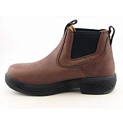 Georgia Men's GR404 Brown Boots Wide - Thumbnail 1