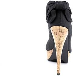 Bebe Women's Kahlilia Black Dress Shoes