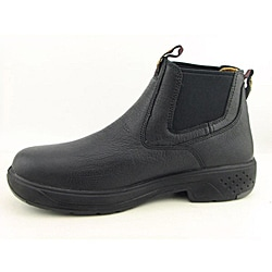 Georgia Men's FlxPoint Romeo Black Occupational Wide - Thumbnail 1