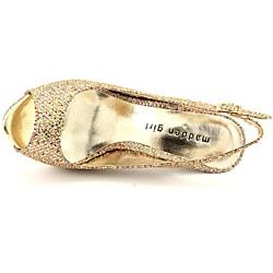 Madden Girl Women's Jassperr Gold Dress Shoes - Thumbnail 1