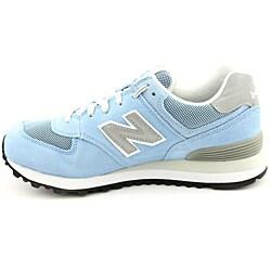 New Balance Men's ML574 Blue - Light Casual Shoes - Thumbnail 1