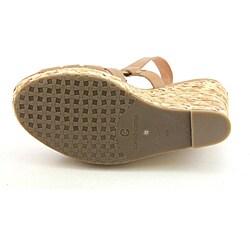 Corso Como Women's Diver Tan Sandals - Thumbnail 1