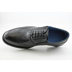 Lounge By Mark Nason Men's Hoxton Black Dress Shoes - Thumbnail 1