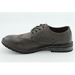 Steve Madden Men's Macreen Brown - Dark Dress Shoes - Thumbnail 1