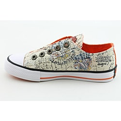 Ed Hardy Boy's Lowrise Beige Casual Shoes - Thumbnail 1