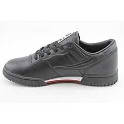 Fila Men's Original Fitness Black Casual Shoes