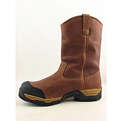 Georgia Men's Diamond Trax Brown Boots - Thumbnail 1