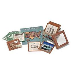 Melissa & Doug Family Road Trip Box of Questions Trivia Card Game - Thumbnail 1