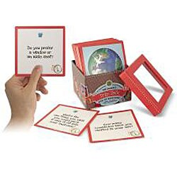 Melissa & Doug Family Talk Box of Trivia Card Game Questions