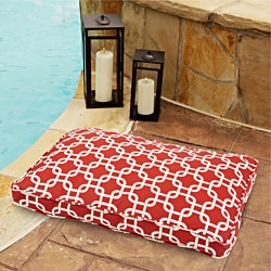 Sweet Dreams Indoor/ Outdoor Chain link Red Pet Bed - Thumbnail 1