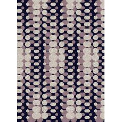 Admire Home Living Brilliance Circuit Area Rug (21 x 34) - Thumbnail 1