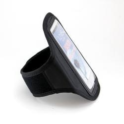 Premium Samsung Galaxy S3 Black Sport Arm Band Pouch - Thumbnail 1