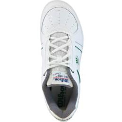 Wilson Mens Pro Staff Classic II White/Green/Gray Tennis Shoes - Thumbnail 1