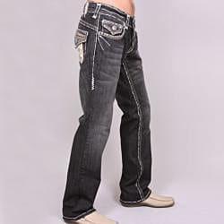 Laguna Beach Men's 'Long Beach' Black Wash Jeans - Thumbnail 1