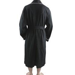 Leisureland Men's Shawl Collar 48-inch Waffle Bathrobe