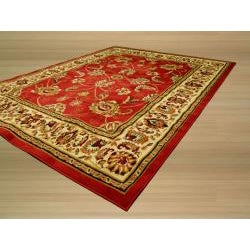 Pat Mahal Oriental Red Rug (3'3 x 4'6) - Thumbnail 1