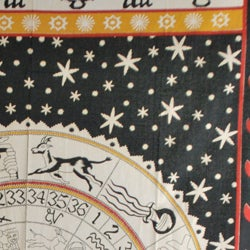 Zodiac Print Tapestry (India) - Thumbnail 1