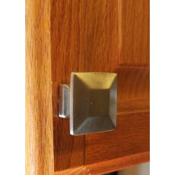 GlideRite Square Satin Nickel Cabinet Knobs (Pack of 10)