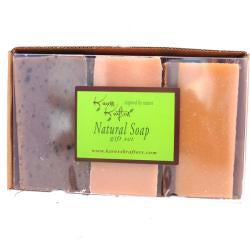 Coffee, Cranberry & Spice Soap Trio by Karess Krafters - Thumbnail 1