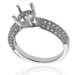 14kt White Gold 1/2ct TDW Diamond Engagement Ring - Thumbnail 1