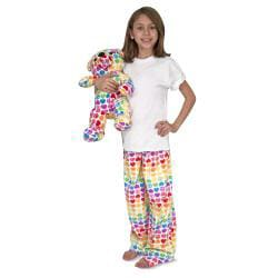 Melissa and Doug Girls Beeposh Hope Lounge Pants - Thumbnail 1