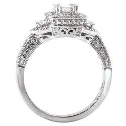Avanti 14k White Gold 5/8ct TDW Diamond Engagement Ring (G/H, SI1-SI2) - Thumbnail 1