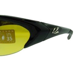 Kaenon Men's KORE Black with Y35 Lenses Sunglasses