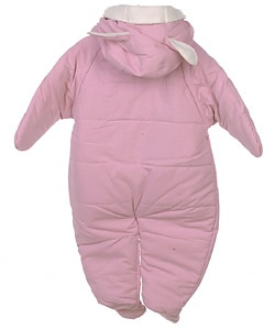 Weatherproof Garment Co. Infant Pink Snow Suit - Thumbnail 1