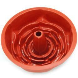 Freshware Rose Fluted Bundt Cake Silicone Mold/ Pan - Thumbnail 1