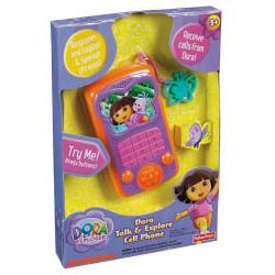 Fisher-Price Dora English and Spanish Talk and Explore Cell Phone - Thumbnail 1