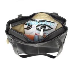 Piel Leather Fashion Shopping Bag