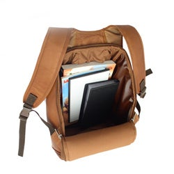 Piel Leather Moon Shaped Backpack - Thumbnail 1
