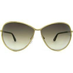 Tom Ford Women's TF181 TF0181 Francesca Gold Sunglasses - Thumbnail 1