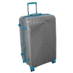 American Vertigo Silver 3-piece Lightweight Expandable Hardside Spinner Luggage Set With TSA Lock - Thumbnail 1