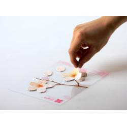 Leaf-it Cherry Blossom White Medium Sticky Notes (Pack of 20) - Thumbnail 1
