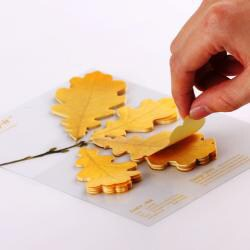 Leaf-it Oak Yellow Medium Sticky Notes (Pack of 20) - Thumbnail 1