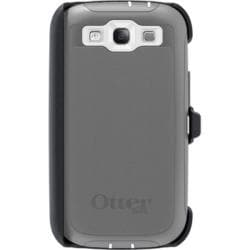 OtterBox Defender Protective Case for Samsung Galaxy S3 S III i9300 - Glacier With Car Charger, Velcro Tie - Thumbnail 1